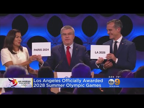 IOC Finalizes Olympics' Return To Los Angeles In 2028