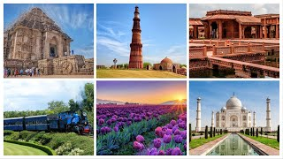 36 UNESCO World Heritage Sites in India || 2018
