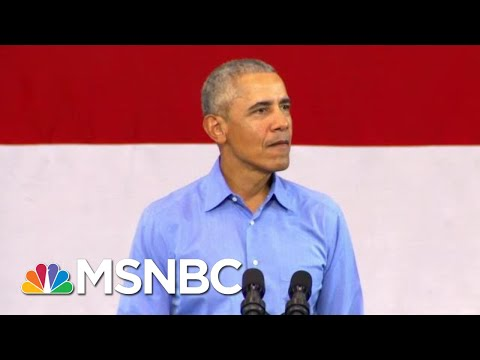 Demolished By Facts: Trump's Claim GOP Never Investigated Obama   The Beat With Ari Melber   MSNBC