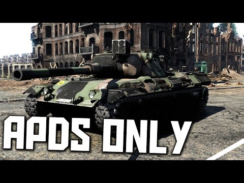 APDS ONLY - Leopard 1 - War Thunder RB Gameplay