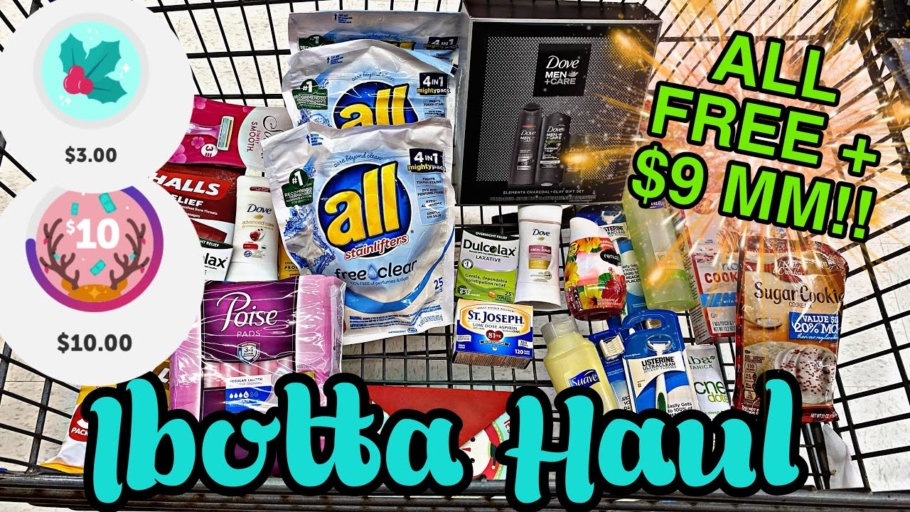 Walmart Ibotta Haul FREE+ $9 MM! 2 Bonuses Completed!
