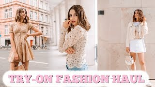 TRY-ON FASHION HAUL JUNI 2019 🛍 | LIVE UNBOXING
