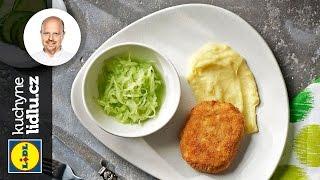 Řízek z mletého masa se sýrem - Roman Paulus - RECEPTY KUCHYNĚ LIDLU
