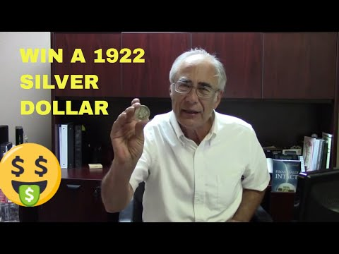 Win A Silver Dollar, Contest Ends Oct. 31, 2020