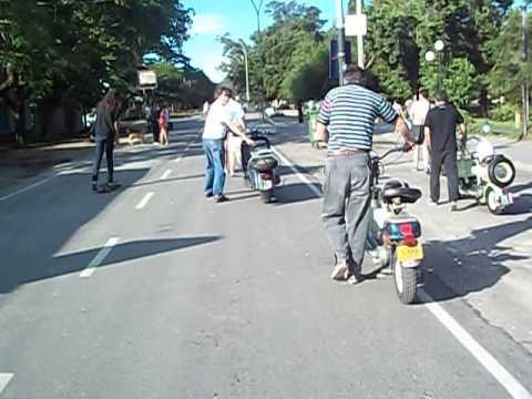 Procesion motorista en Ranelagh con nueva...