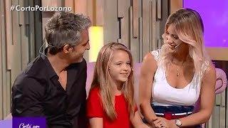 Rocío, Nicolás y Aitana en Cortá Por Lozano