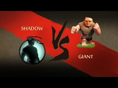 SHADOW vs GIANT..Shadow fight 2 Hack..!
