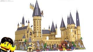 Baixar LEGO Harry Potter Hogwarts Castle 2018 full review! 71043