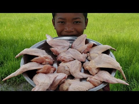 Easy Crispy Chicken Wing Cooking / Eating Chicken Wing