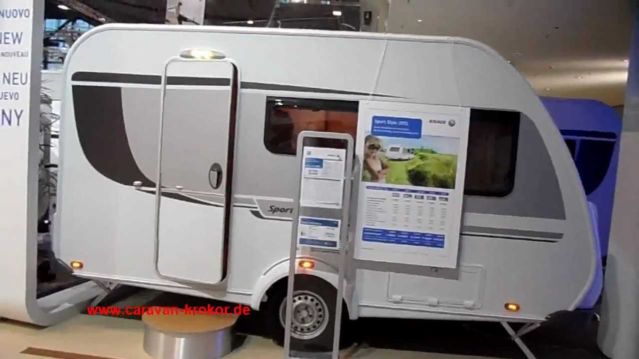 knaus sport style 400lk mod 2013 wohnwagen klein youtube. Black Bedroom Furniture Sets. Home Design Ideas
