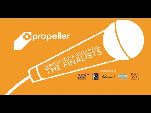 Search for a Presenter -- The Finalists