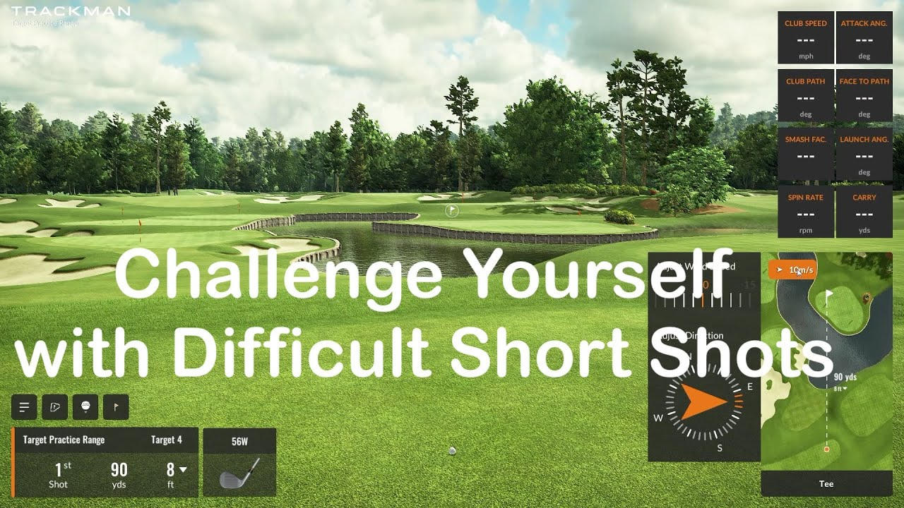 Challenge Yourself with Difficult Short Game Practice