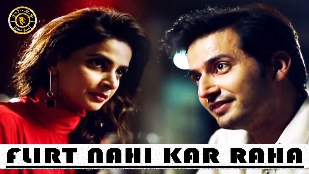 Flirt Nahi Kar Raha Shadi Karogi - Saba Qamar Hotshot