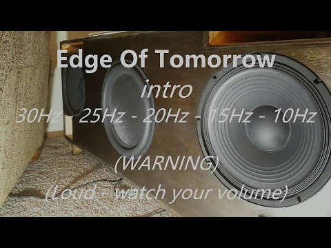 Subwoofer cabinet -  Edge Of Tomorrow intro