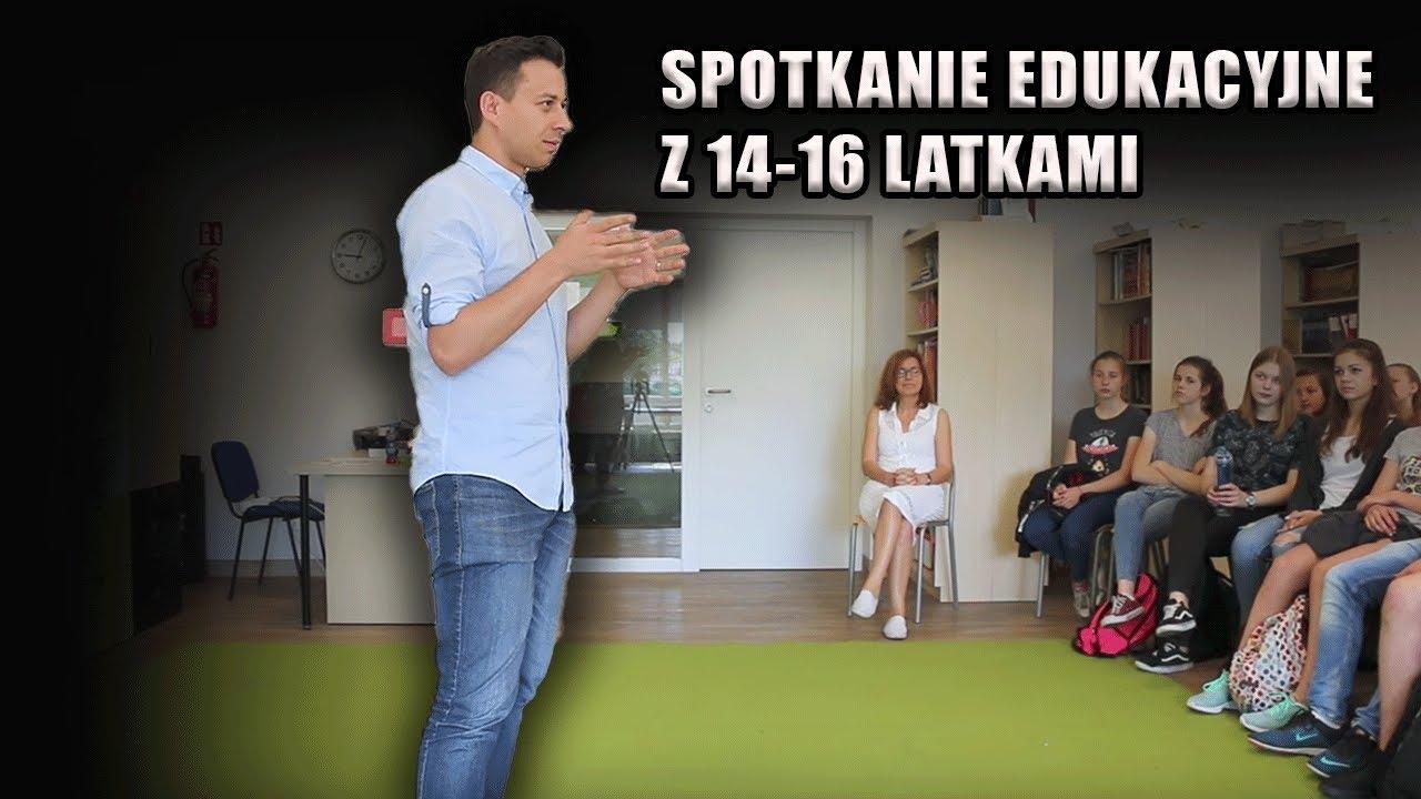 Spotkanie edukacyjne z młodzieżą | Marcin Osman
