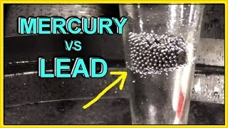 LEAD vs MERCURY (Hg)   Defies ALL Logic (part 2)