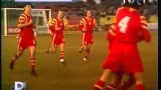 QWC 1998 Lithuania vs. Romania 0-1 (02.04.1997)
