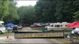 Camping At SunFox Campground With Friends & Family | Our Annual Summer Getaway Tradition | Part 1