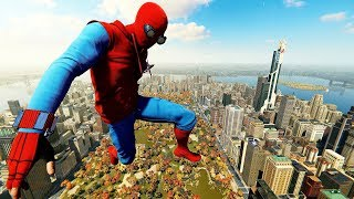 Spider-Man PS4 - Homecoming Homemade Suit Advanced Combat, Stealth & Free Roam Gameplay