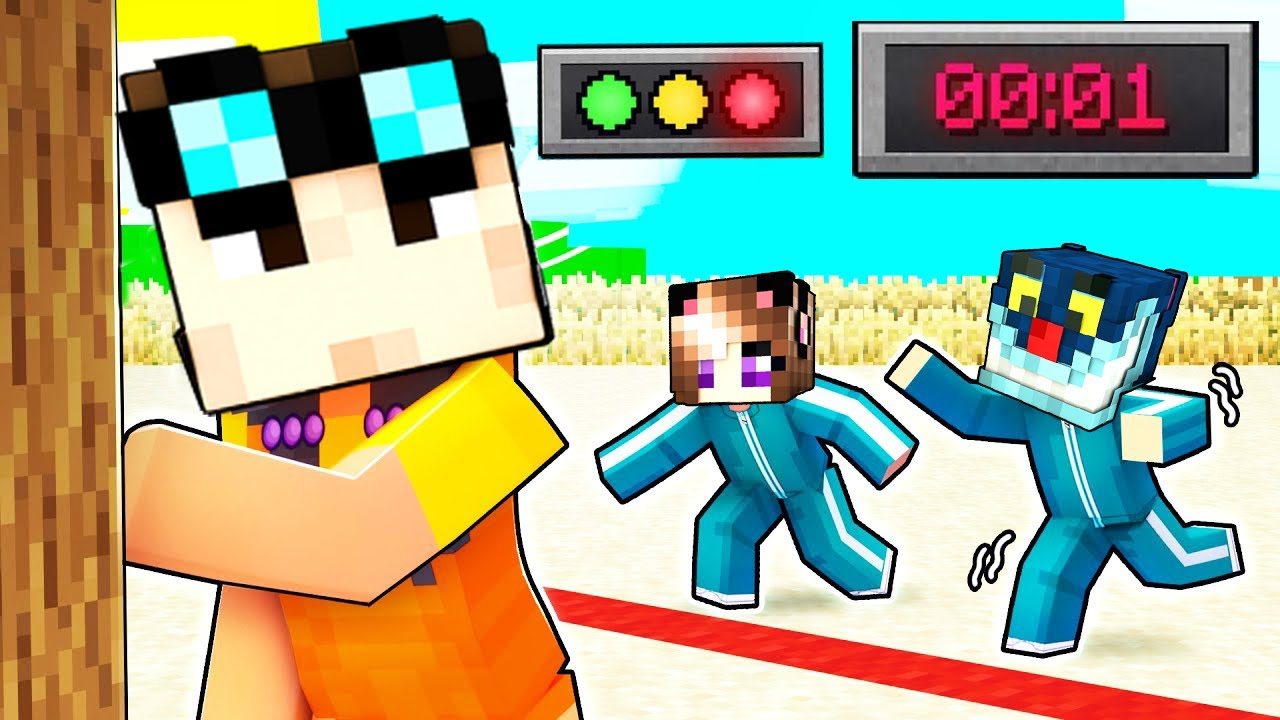 Download INDOVINA CHI SONO NELLO SQUID GAME SU MINECRAFT!!