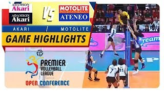 PVL OC 2018: Adamson-Akari vs. Ateneo-Motolite   Game Highlights   November 11, 2018