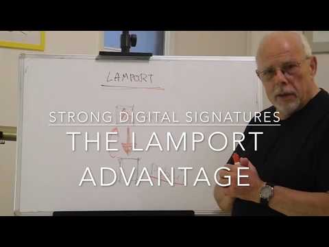 Strong Digital Signatures: The Lamport Advantage