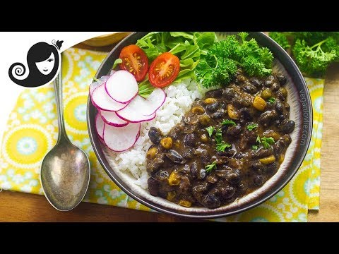 Easy Pressure Cooker Black Bean Stew + GIVEAWAY! Vegan/Vegetarian Recipe