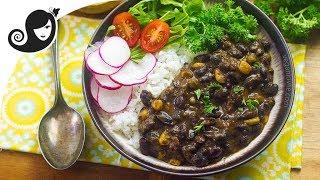 Easy Pressure Cooker Black Bean Stew + GIVEAWAY! {closed} Vegan/Vegetarian Recipe