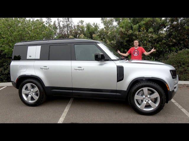 Land Rover Defender 2020 года - это самый горячий кросовер года