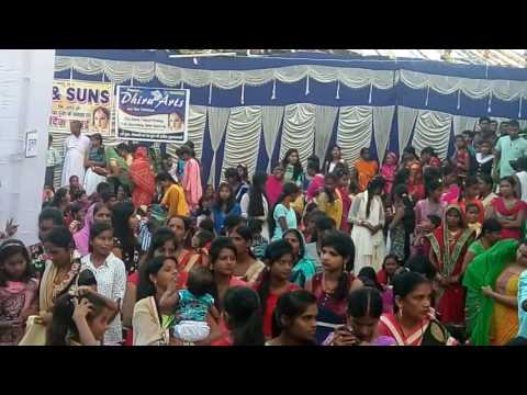 chhattarpur palamu durga puja ashtami arti 09 oct 2016 part-1