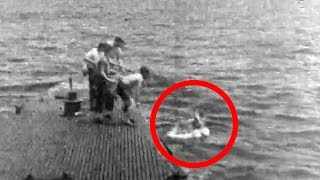 George H.W. Bush rescued at sea during WWII