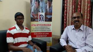 Budding International Level Sailor - Mahesh Balachander NIOS Learner - 190005152004