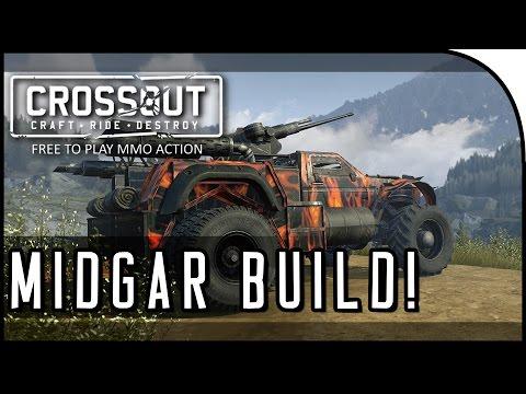 "Crossout Beta Gameplay - ""MIDGAR BUILD!"" (CrossOut High Tier Gameplay)"