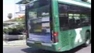 MAN NL 313 bus in Haifa, Israel