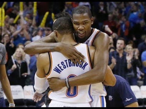 Kevin Durant & Russell Westbrook Reunited???