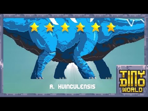 Hatching & Evolving Argentinosaurus!| Tiny Dino World |Ep:18