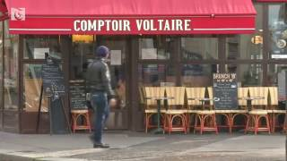 Paris mourns attacks one year on