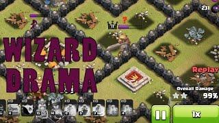Clash of Clans   Wizard Drama   War Recap #2