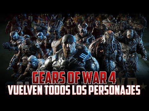 Gears of War 4   Vuelven Todos los Packs de Juego!!