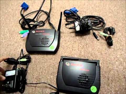 Avocent Set Wireless Longview LV3500W XMTR RCVR w Audio