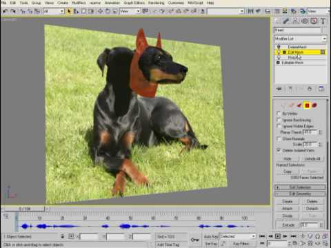 Create talking animals with Voice-O-Matic in 3ds max