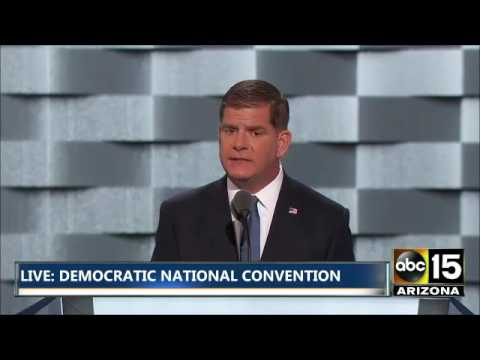 FULL: Mayor Marty Walsh - Democratic National Convention