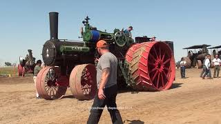 Unveiling Kory Anderson's Case 150 HP Road Locomotive Steam Engine James Valley Threshers 2018