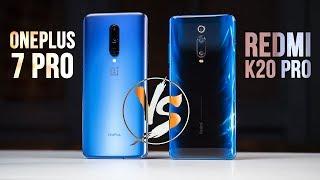 Redmi K20 Pro vs OnePlus 7 Pro - Xiaomi ВЫПУСТИЛИ КИЛЛЕРА!?