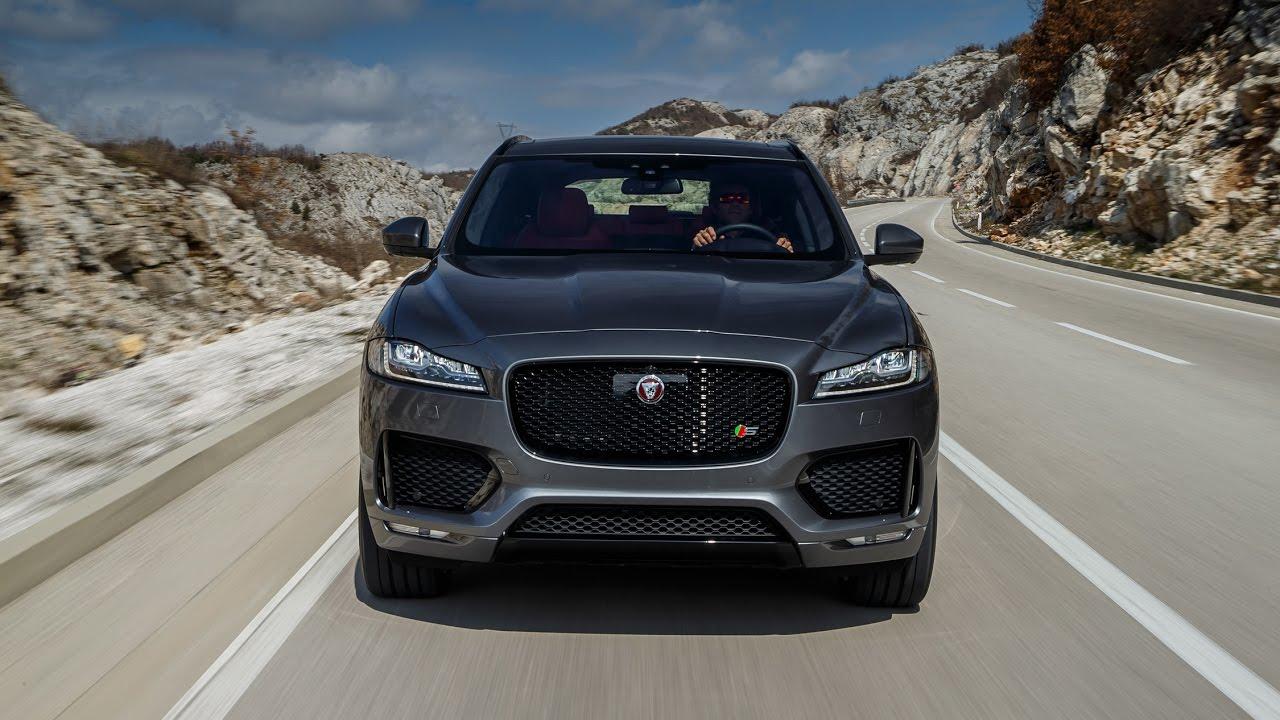 acceleration system test drive 2017 jaguar f pace type svr - youtube