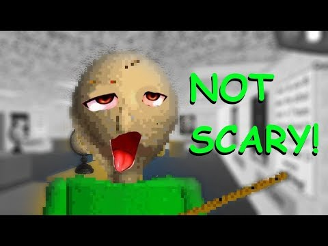 BALDI'S BASICS IS NOT SCARY    Baldi's Basics In Education and Learning FUNTAGE