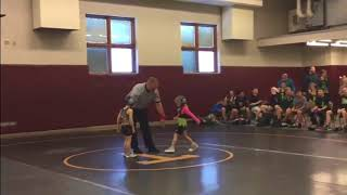 """""""Stone Cold"""" Little Brother Interferes in Sister's Wrestling Match"""
