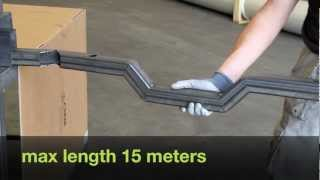 the innovative way to bend square steel tubes without bending machi...