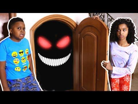 MONSTER In Shiloh and Shashas Basement! - Onyx Kids