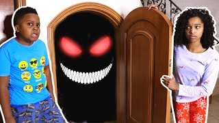 MONSTER In Shiloh and Shasha's Basement! - Onyx Kids